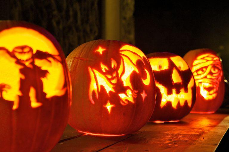 Halloween Pampkin Carvings